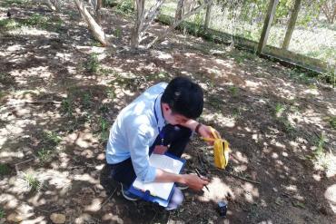 Hoạt động thăm vườn kiểm tra đất và tư vấn kỹ thuật cho bà con nông dân vườn Bưởi Đồng Nai