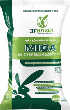 MINERAL ORGANIC POWDERED FERTILIZER MIGA 3.3.4 (40 KGS)