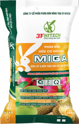 MINERAL ORGANIC POWDERED FERTILIZER MIGA 3.3.4 (25 KGS) M2