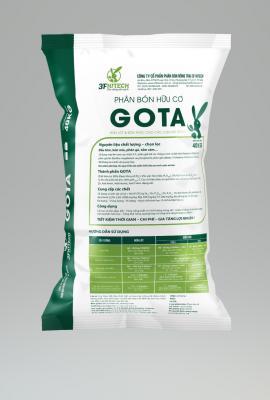 Phân bón Hữu cơ GOTA 2.2.1 (Viên) 40kg
