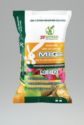 Phân bón HCK MIGA 3.3.4 (Bột) 25kg M2