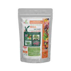 MINERAL ORGANIC PELLETED FERTILIZER MIGA FOR VEGETABLE (500G)